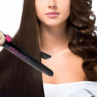 Magma Professional Hair Straightener Ceramic Ionic Tourmaline Auto-Shut Off Safety Flat Iron
