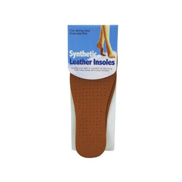 Bulk Buys GM738-36 Synthetic Leather Insoles