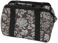 JanetBasket Blue Floral Eco Bag-18 X10 X12