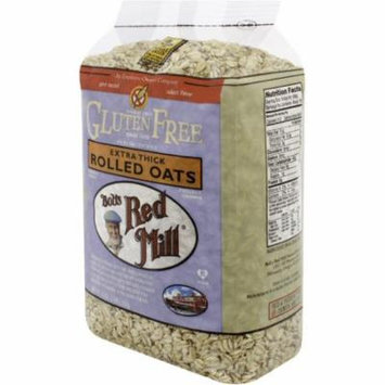 2 Pack - Bob's Red Mill Gluten Free Extra Thick Rolled Oats 32 oz