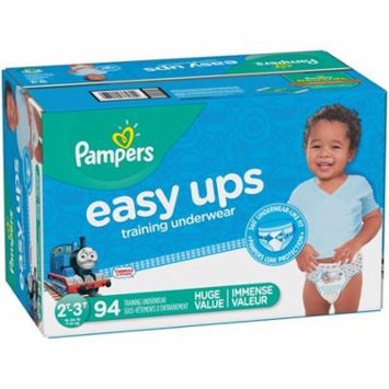 Pampers Easy Ups Training Underwear Boys, Size 2T-3T, 94 Pants