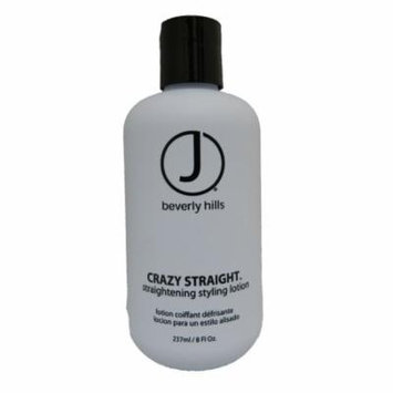 J Beverly Hills Crazy Straight Straightening Styling Lotion 8 Ounce