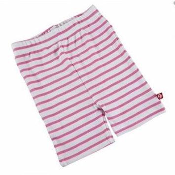 Zutano Striped Bike Short- Hot Pink, 3T