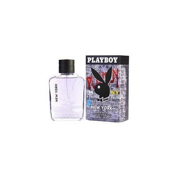 PLAYBOY NEW YORK by Playboy - EDT SPRAY 3.4 OZ (NEW PACKAGING) - MEN
