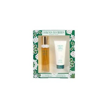DIAMONDS & EMERALDS by Elizabeth Taylor - EDT SPRAY 3.3 OZ & BODY LOTION 3.3 OZ - WOMEN