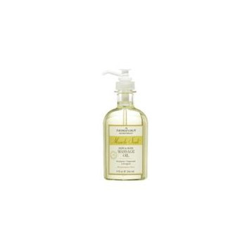 MUSCLE SOAK by Aromafloria - BATH AND BODY MASSAGE OIL 9 OZ BLEND OF EUCALYPTUS, PEPPERMINT, AND LEMONGRASS - UNISEX