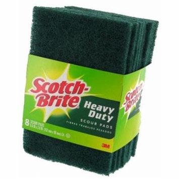 8 Count Scotch-Brite Heavy Duty Scour Pad