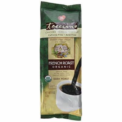 Teeccino Maya Herbal Coffee Caffe Dark Roast French Roast Organic 11 oz.