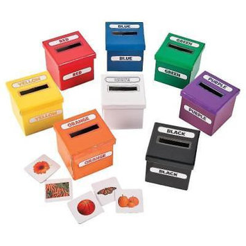 IN-13764747 Color Sorting Boxes 1 Set(s)