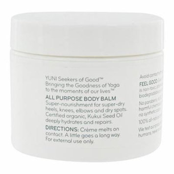 All Purpose Body Balm with Kukui Oil & Shea Butter - 2 fl. oz. by Yuni (pack of 4)