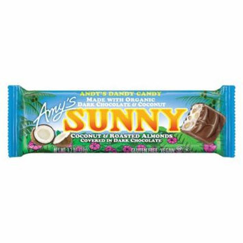 Amy's Candy Bar - Organic - Sunny - Case Of 12 - 1.3 Oz