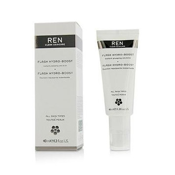 REN Flash Hydro-Boost Instant Plumping Emulsion For All Skin Types 40ml/1.3oz