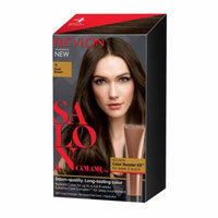Revlon Salon Hair Color Dark Brown, 1 Application