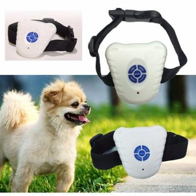 Adjustable Bark Control, Bark Control Pet Dog Training Collar ABS Ultrasonic Electronic Anti-Barking Control Device