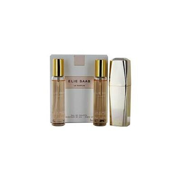 ELIE SAAB LE PARFUM by Elie Saab - EDT REFILLABLE PURSE SPRAY .67 OZ & EDT REFILL .67 OZ (TWO PIECES) - WOMEN