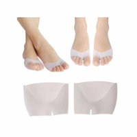 Ball of Foot Cushion Metatarsal Pads - NK 2 pairs Half Toe Sleeve Bunion & Forefoot Cushioning Prevent Calluses and Blisters for Men and Women
