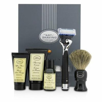 The Art Of Shaving Lexington Collection Power Shave Set: Razor + Brush + Pre Shave Oil + Shaving Cream + After Shave Bal