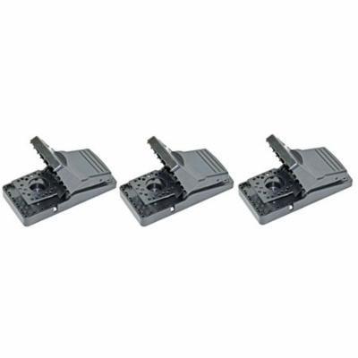 Easy Set Mouse Control Rat Snap Trap, Set of 3
