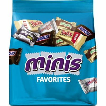 Mars Chocolate, Favorites Minis Size Candy Bars Assorted Variety Mix, 8.9 Oz