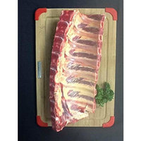 Harris Robinette Natural 100% Grass Fed Baby Back Ribs - Made in the USA - Restaurant Quality Beef Ribs - 5 Pounds
