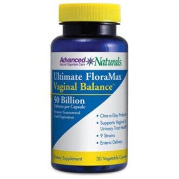 Advanced Naturals Ultimate Floramax Vaginal Balance 50 Billion Caps, 30 Count