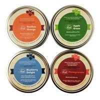 Heavenly Tea Inc. Heavenly Tea Leaves Fruit Loose Leaf Tea Sampler, 4 Count