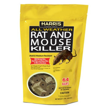 Harris Rat and Mouse Killer Bars 64 Count