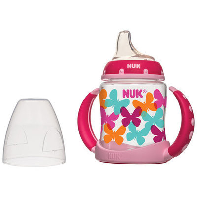 NUK Elephants or Butterflies Learner Cup, 5 oz
