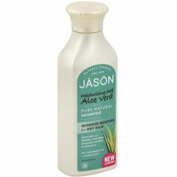 6 Pack - Jason Aloe Vera 84% Hair Smoothing Shampoo 16 oz