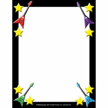 ROCK STAR BORDER PAPER