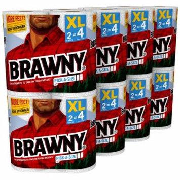 Brawny Paper Towels, Pick-A-Size, 16 XL Rolls
