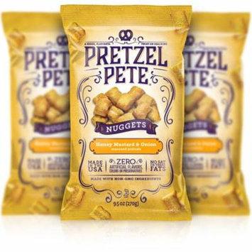 Pretzel Pete Pretzel Nuggets, Honey Mustard Onion, 9.5 Oz, Pack of 3
