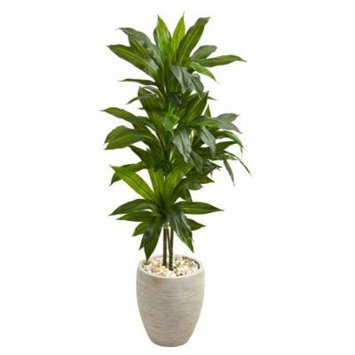4' Grape Leaf Artificial Plant in Terracotta Planter