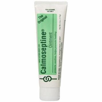 Calmoseptine Diaper Rash Ointment 4 oz Tube - Pack of 3