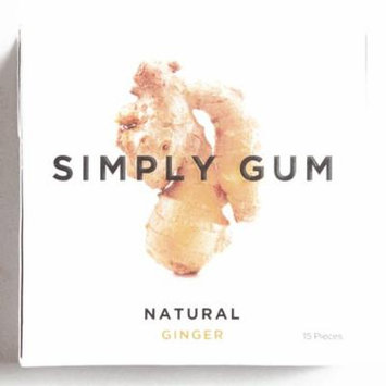 Simply Gum Ginger 1 oz each (1 Item Per Order, not per case)