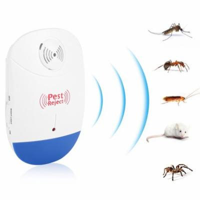Indoor Pest Repeller, Electronic Ultrasonic Mosquito Repellent Pest Control Repeller Home Use US Plug