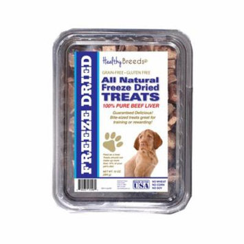Healthy Breeds Wirehaired Vizsla All Natural Freeze Dried Treats Beef Liver 10 oz