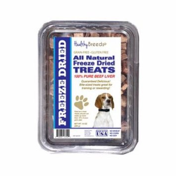 Healthy Breeds English Pointer All Natural Freeze Dried Treats Beef Liver 10 oz
