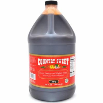 Country Sweet - Premium Cooking and Finishing Sauce (BBQ, Gallon / 128 Ounces)