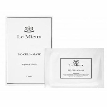 Le Mieux Bio Cell+ Mask - 4 Mask - New in Box - Fresh