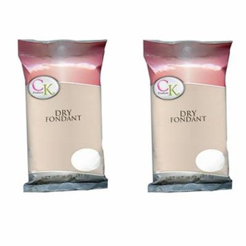 CK Products Dry Candy Fondant 1 Lb. (Pack of 2)