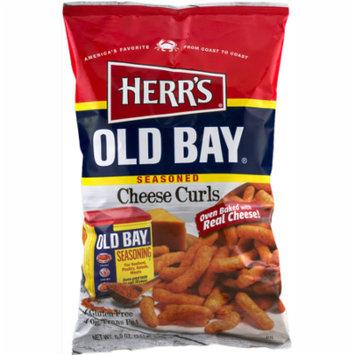 Herr's Old Bay® Seasoned Cheese Curls 8.5 oz. Bag (3 Bags)