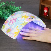 Qiilu 36W LED UV Nail Dryer Gel Polish Curing Lamp for Fingernail & Toenail Gels Professional UV Gel Nail Art Lamp With Sensor