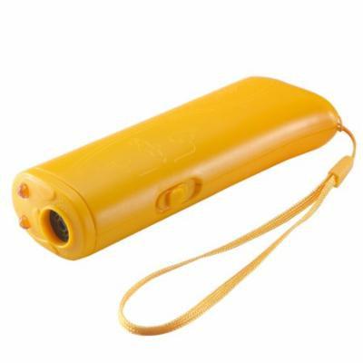 Ultrasonic Dog Repeller Dog Training Device Banish Training Control Device with LED Light Anti Barking Stop