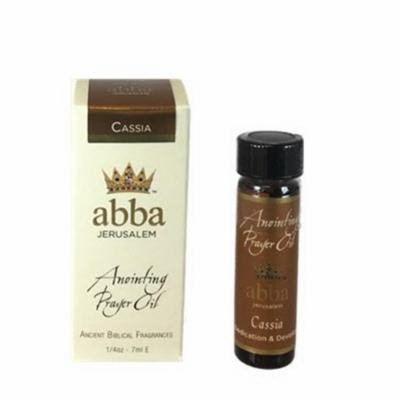 Abba Products 170654 Anointing Oil-Cassia - 0.25 oz