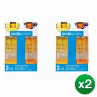 Sodastream 1 Liter Carbonating Bottles - Orange/Yellow (8 Pack) SodaStream 1 Liter Carbonating Bottle