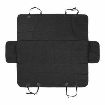 Car Rear Back Seat Carrier Cover Pet Dog Mat Blanket with Ear Waterproof Pad