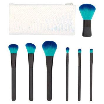 Longtian Intl Co Premium Professional Cosmetic Brush Set, Green, 8 pc