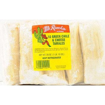 Mi Ranchito Foods Inc Mi Ranchito Green Chile Tamales 26 Oz