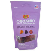 Jelly Belly Organic Fruit Snacks Gummies, 5.5 Oz